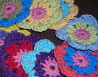 Flower to Hexagon Granny