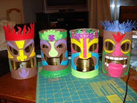 Hawaiian Themed Crafts