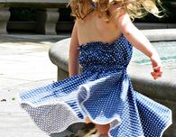 Girl's Halter Top Sundress