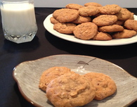 Cinnamon Spiced Oatmeal Cookies