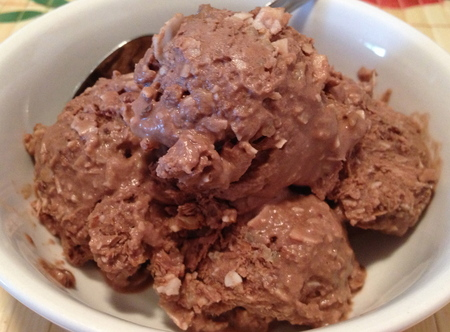 Dairy Free Chocolate Coconut Ice Cream