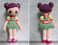 Cookie, the Amigurumi Girl Free Pattern