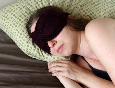 Ruched Eye Mask