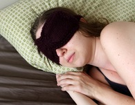 Ruched Eye Mask