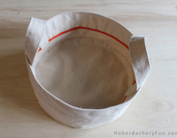 Party Plate Storage Tote