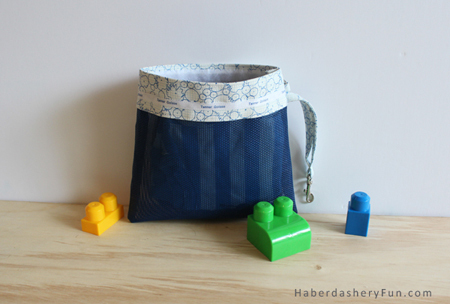 Make A Daycare Mesh Pouch