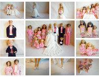 Crochet Barbie Wedding Set For Boo Bear