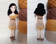 Pocahontas Amigurumi - Free Crochet Pattern