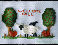 Little Fall Sheep - Free Cross Stitch Pattern