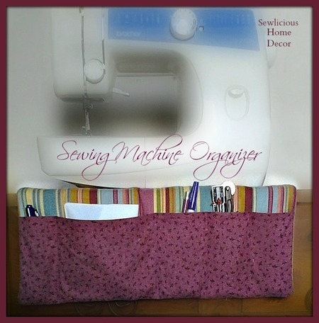 DIY Sewing Machine Organizer Tutorial