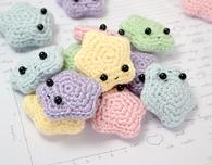 Amigurumi Stars Free Crochet Pattern