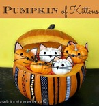 Pumpkin Full of Kittens