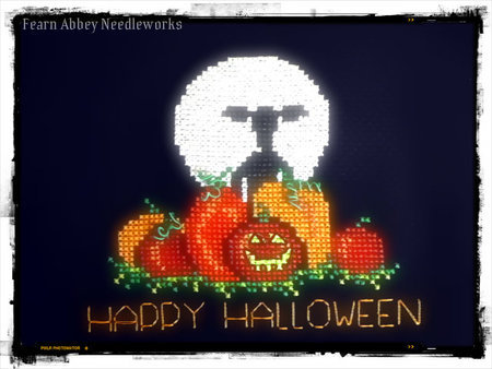 Happy Halloween: Free Cross-Stitch Pattern