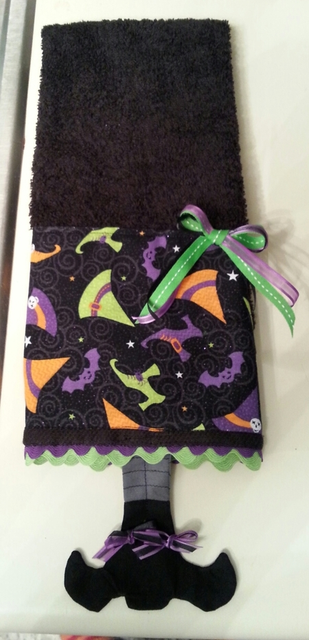 Witchy Towel