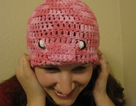 Piggy Crochet Hat