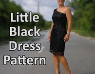 Free Little Black Dress Sewing Pattern