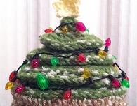 Crochet Christmas Tree Hat