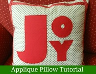 JOY Christmas Pillow