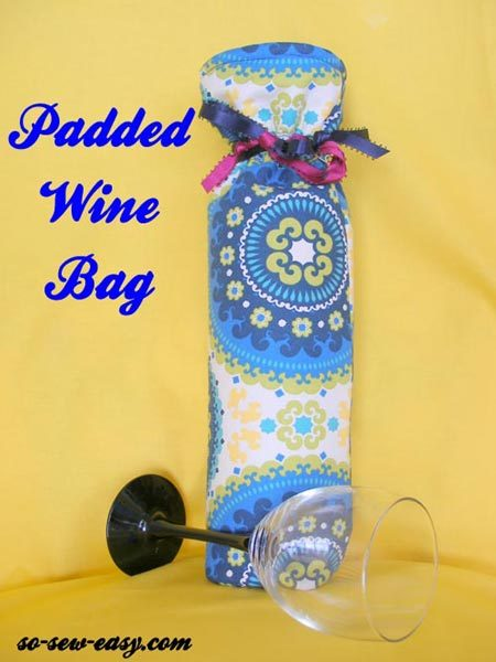 Padded Wine Bag