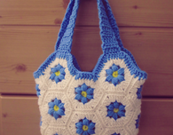 Flower Hexagon Bag - Crochet Pattern