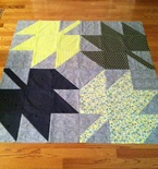 Massive Maples Quilt in Green