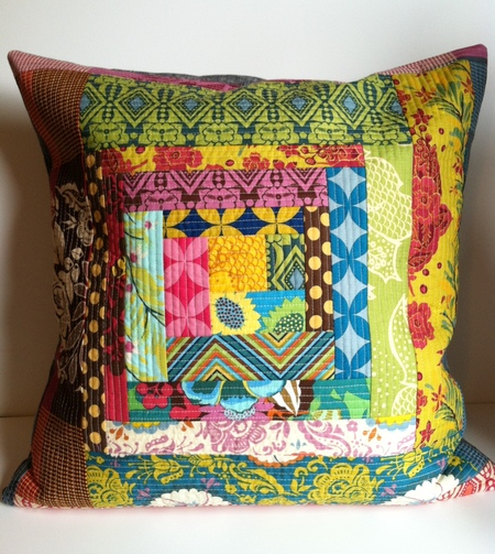 AMH Quilt-As-You-Go Pillow