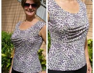 Free Pattern - Gathered Front Top