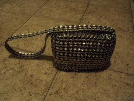 Soda Tab and Duct Tape Purse