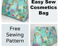Easy Cosmetics Bag Pattern