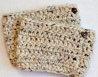 Crochet Boot Cuffs