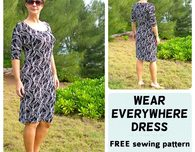 Easy Knit Dress - Free Pattern