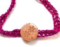 Easy Crochet Wrap Bracelet