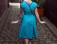 "Vintage Late 50s / Early 60s Wrap Dress - ""McCalls 2440"""