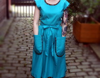 """Vintage Late 50s / Early 60s Wrap Dress - """"McCalls 2440"""""""