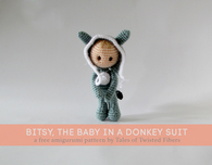 Bitsy the Baby in a Donkey Suit