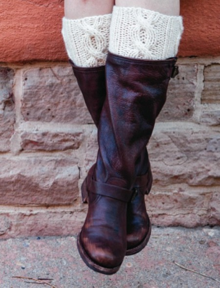 1 Hour Easy Boot Cuff Knitting Pattern Craftfoxes