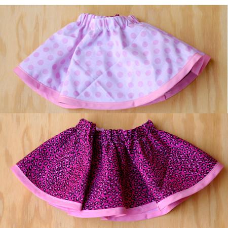 Reversible Baby Skirt