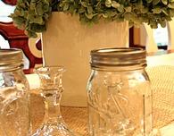 Fancy Mason Jar Wine Glasses