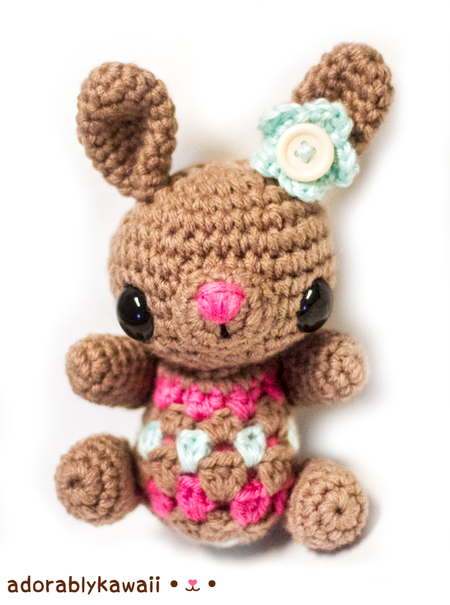 Cute Little Bunny Amigurumi Pattern