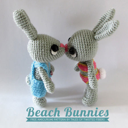 Amigurumi Beach Bunnies