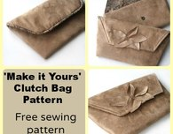 Make it Yours Clutch Bag - Free Pattern