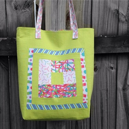 Bluebell's Cabin Tote Bag