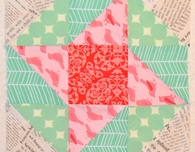 Sun and Surf Quilt Block