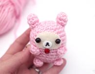 Amigurumi Bear in a Bunny Suit