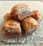 Turkish Baklava with Walnuts