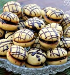 Butter Cookies with Chocolate Cream