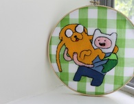 Adventure Time Felt Applique