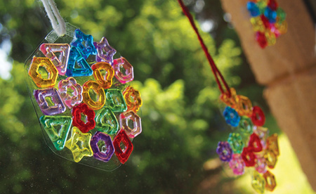 Fancy Stringing Rings Suncatcher