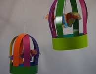 Colorful Birdcage