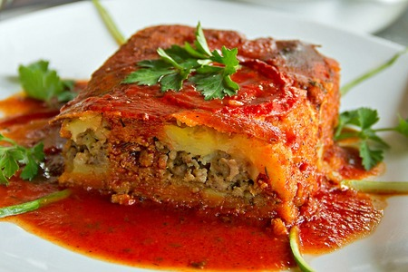 Potato and Meat Moussaka Recipe